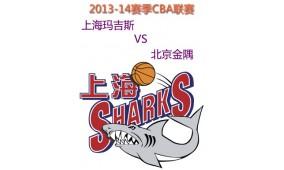 2013-14赛季CBA联赛上海玛吉斯VS北京金隅